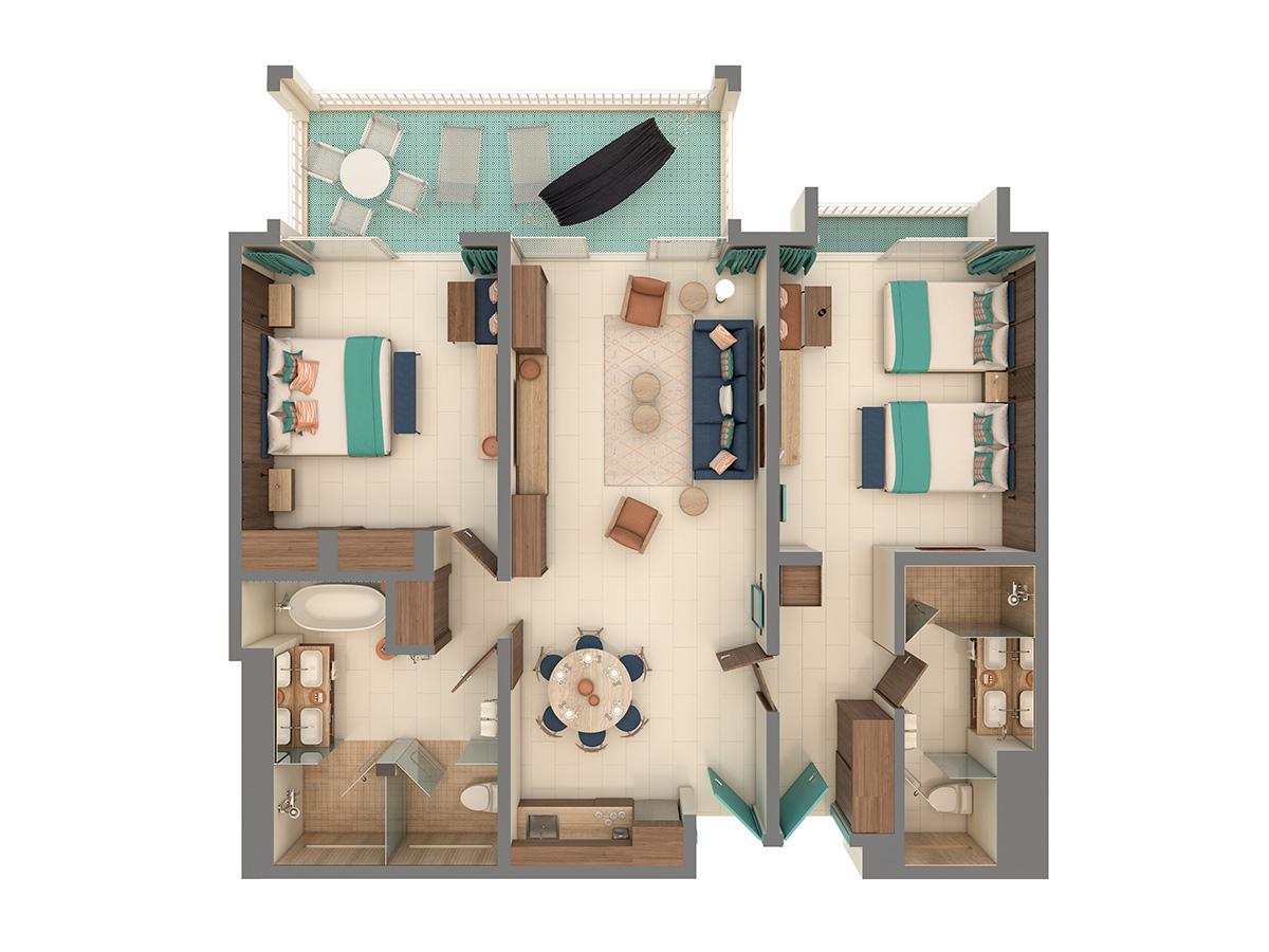 Uno Grand Suite Floor Plan