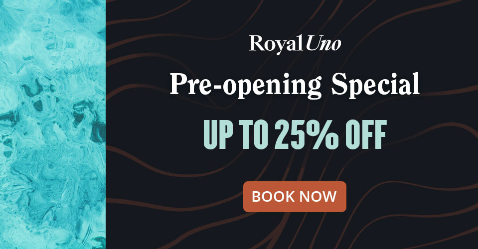 Royal Uno Special Deals up to 20% off Book Now
