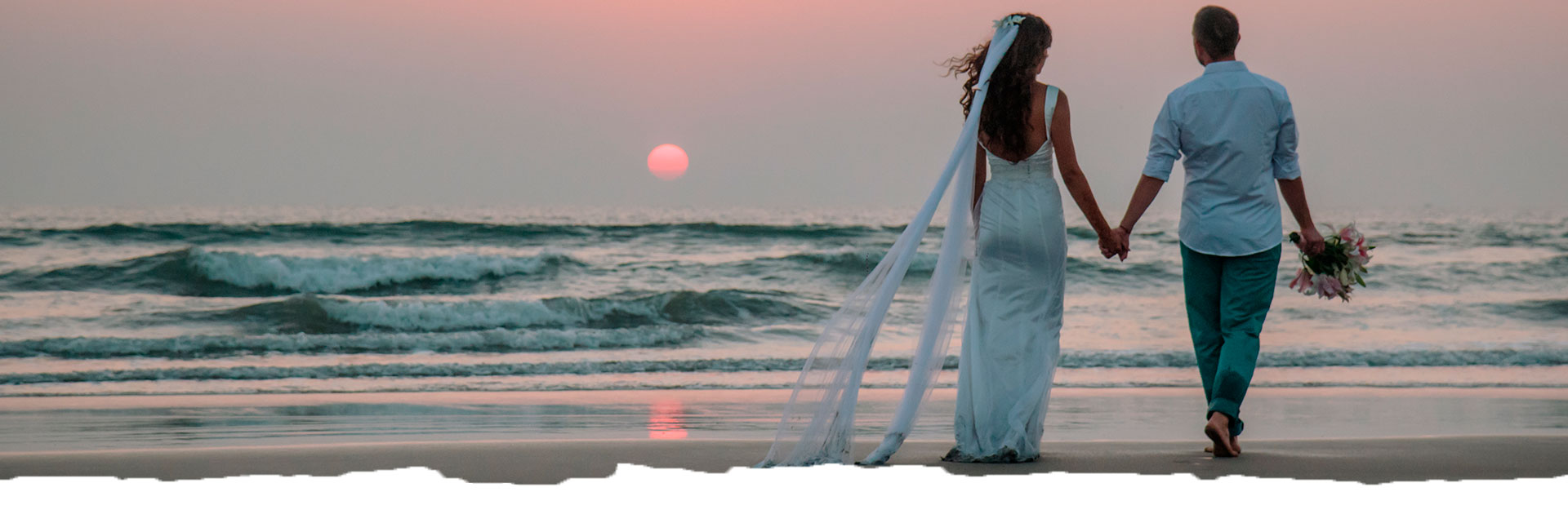 Royal Beach Wedding Header